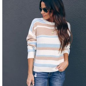 GWENDOLYN Striped Sweater